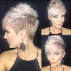 "3,059 Likes, 155 Comments - Short Hair 💇 Pixie Cut Boston (@nothingbutpixies) on Instagram: ""A great new styling tutorial by @sarahb.h. Who wants to see more of these styling videos just say…"""