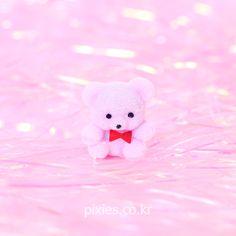 Fluffy Light Purple Bear