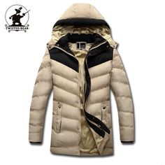 41.70$  Watch here - http://alik0y.worldwells.pw/go.php?t=32506171930 - New Men's Fleece Cotton-Padded Clothes Fashion Hooded Thickened Quilted Jacket Men Designer Casual Plus Size Winter Coats D9F151