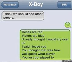 SMS – Roses are red |