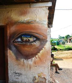 New painting by Adnate in the infamous Soweto, a historic suburb in the city of Johannesburg, South Africa. #StreetArt #Graffiti #Mural   ♥♥♥
