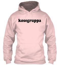 Kosegruppa | Skam Light Pink Sweatshirt Front