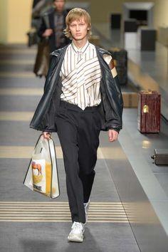 Male Fashion Trends: Fendi Fall-Winter 2018-19 | Milan Fashion Week
