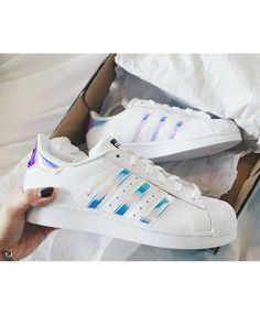 97082ac5a5d Adidas Originals Superstar With Metalic Glitter Purple Shiny Stripes  Sneakers on Sale