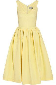 Preen by Thornton Bregazzi Flo stretch-crepe dress | THE OUTNET