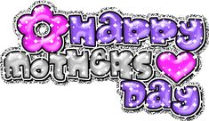 mother's day clip art | Free Happy Mother's Day MySpace Glitter Graphics