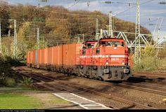 RailPictures.Net Photo: DE 76 HGK Häfen und Güterverkehr Köln BR 272 at Cologne, Germany by Christian Schürmann: