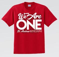 We Are ONE - Church Reunion Shirt Family Reunion Logo, Family Reunion Games, School Shirt Designs, School Shirts, Reunion Tshirt Design, Youth Group Shirts, Math Teacher Shirts, Family Vacation Shirts, Pants Pattern