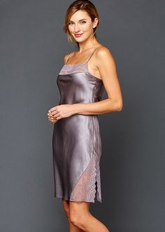 Julianna Rae offers the epitome of taste and quality in luxury sleepwear for women. Our women's silk sleepwear will make any woman feel elegant and special. Satin Lingerie, Pretty Lingerie, Women Lingerie, Pink Satin Dress, Satin Gown, Satin Nightie, Silk Chemise, Silk Nightgown, Silk Sleepwear
