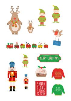 Have fun making some adorable Christmas cards with our free printables from Papercraft Inspirations issue They feature Santa with a collection of very cheeky elves, plus a template for an exploding box card! Christmas Is Coming, Christmas Goodies, Christmas Cards, Merry Christmas, Xmas, Free Christmas Printables, Free Printables, Exploding Box Card, Santas Workshop