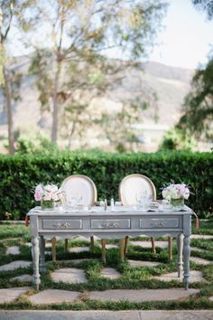 Maravilla Gardens Wedding from Hazelnut Photography Sweetheart Table Backdrop, Wedding Trends, Wedding Ideas, Chic Wedding, Wedding Stuff, Wedding Inspiration, Bridal Party Tables, Shabby Chic Garden, Event Design