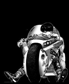 "Kaneda from ""Akira"" Manga Art, Manga Anime, Anime Art, Blue Exorcist, Arte Digital Fantasy, Angel Manga, Cowboy Bebop, Akira Anime, Character Art"