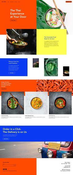 Asian Restaurant Website Template | Wix Website Templates