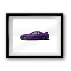 Nissan R34 GTR Z-Tune Prints (3 colours)