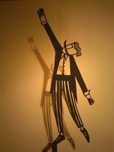 Circus Ringmaster  Shadow Puppet Papercut by suowen on Etsy, $15.00
