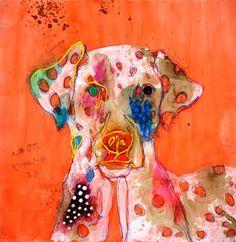 12782 正直に言われても私は困るだけ 羊 30000枚描いたら世界へ -北村直登- Abstract Animals, Colorful Animals, Dog Paintings, Oriental, Japanese Artists, Dog Art, Art Images, Illustrators, Sheep
