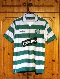 Glasgow Celtic Football Club Home Jersey 2004 - 2005 Medium Adult Umbro Soccer  Jerseys e909a63d5