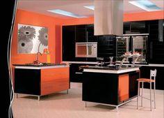 #diseño de #cocinas Cocinas modernas en color negro  en linea 3 cocinas #madrid #ciempozuelos