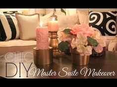 Master Bedroom Makeover! - YouTube