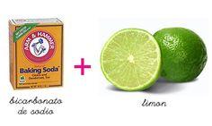 Receta para aclarar las axilas Zumo de limón Bicarbonato de Sodio Elabora una pasta homogénea con bicarbonato de sodio y el jugo de limón. Aplica sobre las axilas y deja actuar por 10 minutos. Retira con agua. Lo puedes repetir hasta 2 veces por semana