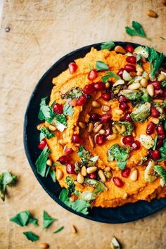 A Colorful Twist on Hummus with Roasted Carrots & Harissa