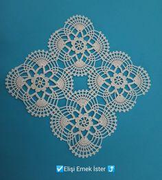 Cotton Crochet Patterns, Crochet Square Patterns, Crochet Squares, Baby Knitting Patterns, Crochet Designs, Zig Zag Crochet, Filet Crochet, Crochet Motif, Crochet Doilies