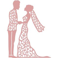 Laser Art, Wedding Silhouette, Art Template, Templates, Scrapbook Designs, Silhouette Cameo Projects, Cricut Vinyl, Wedding Couples, Wedding Ideas