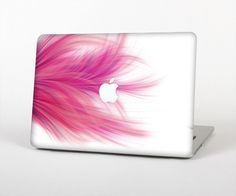 The Abstract Pink Flowing Feather Skin for the by TheSkinDudes