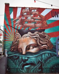 The art of Beau Stanton - murals, street art and more...