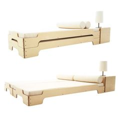 What a great idea! I think I can build these!!! Modular Stacking Bed