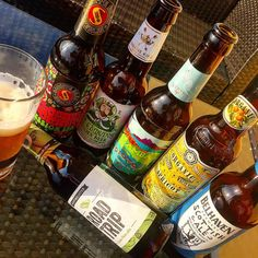 Little sunny sunday beer tasting #bier #beer #instabeer #flowerpower #ipa #schoppebräu #stedmunds #hoppebräu #camba #bravo #samuelsmith #organic #belhaven #ale #hopfmeister #paleale #ilovebeer #england #scottland #germany #bavaria #cervesa #birra #sunday