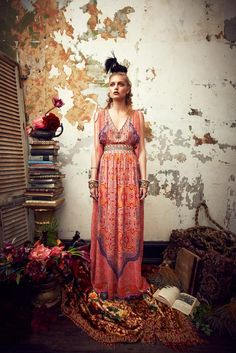 editori, fashion styles, inspir, camilla frank, boho, bohemian, print, style fashion, kaftan