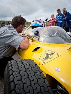 2012 Zandvoort Historic GP: Ferrari 156 F1