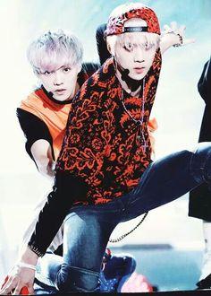 Sehun and Luhan.