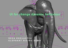 maya platform skin , muscle , deformation , blend shape and rig