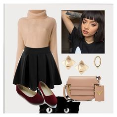 """""""Untitled #108"""" by i-love-modas on Polyvore featuring Valentino, Doublju and Pandora"""