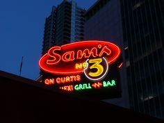 Sam's #3 diner in Denver. As seen on Diners, drive ins and dives. Try the green chili!