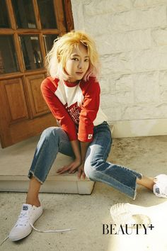 SNSD's HyoYeon for Beauty+ magazine's April issue