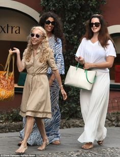 One of the family! Lana seemed to be getting on famously with her potential mother in law,...