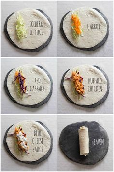 These Shredded Buffalo Chicken Wraps are the ultimate no-fuss lunch! Made with a homemade blue cheese sauce, these wraps are crazy delicious! Shredded Buffalo Chicken, Buffalo Chicken Wraps, Buffalo Chicken Sandwiches, Chicken Sandwich Recipes, Chicken Goujons, Homemade Buffalo Sauce, Blue Cheese Sauce, Kitchen Queen, Leftover Rotisserie Chicken