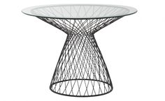 "Dakota Table   Jayson Home   42"" diameter x 29.5""H  $1,195"
