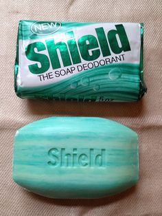 It's soap! AND it's deodorant! The original multitasking bathroom product, years before anyone had even considered scoffing at the absurd notion of taking TWO bottles into the shower...