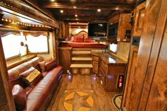 Outlaw Conversions Amazing Horse Trailer Living Quarters