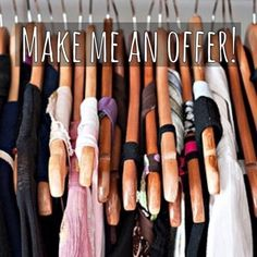 Make me offers! Not LowBalls  but offers! Everything in my closet must go✌️! If you really want it get it before someone else does! Most of my items are one of a kind and quite rare yet still in style/season. Treat yourself! Happy poshing! Accessories