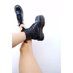 Love, love, love my new Dr. Martens Jadon boots!