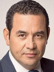 JIMMY MORALES. Presidente de GUATEMALA (2016 - )