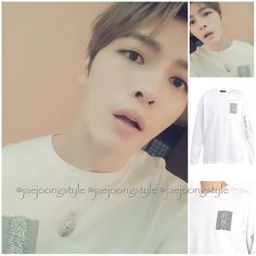 180316👕: RAF SIMONS white t-shirt printed with the graphic from Joy Division's 1979 album Unknown Pleasures 'Substance'. 💷: £286. 📷: matchesfashion and @jj_1986_jj IG.  #kimjaejoong #jaejoong #김재중 #ジェジュン #金在中 #korean #singer #singersongwriter #celebrity #kpop #rockstar #koreanactor #hallyustar #mensfashion #ootd #kstyle #kfashion #jaefans