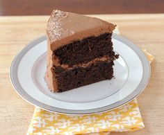 Good Thymes and Good Food: Sweet & Salty Chocolate Cake with Whipped Caramel-Chocolate Frosting