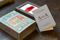 Letterpress work from Lino's & Co, Verona.