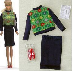 1965 Barbie Knit Hit #1621